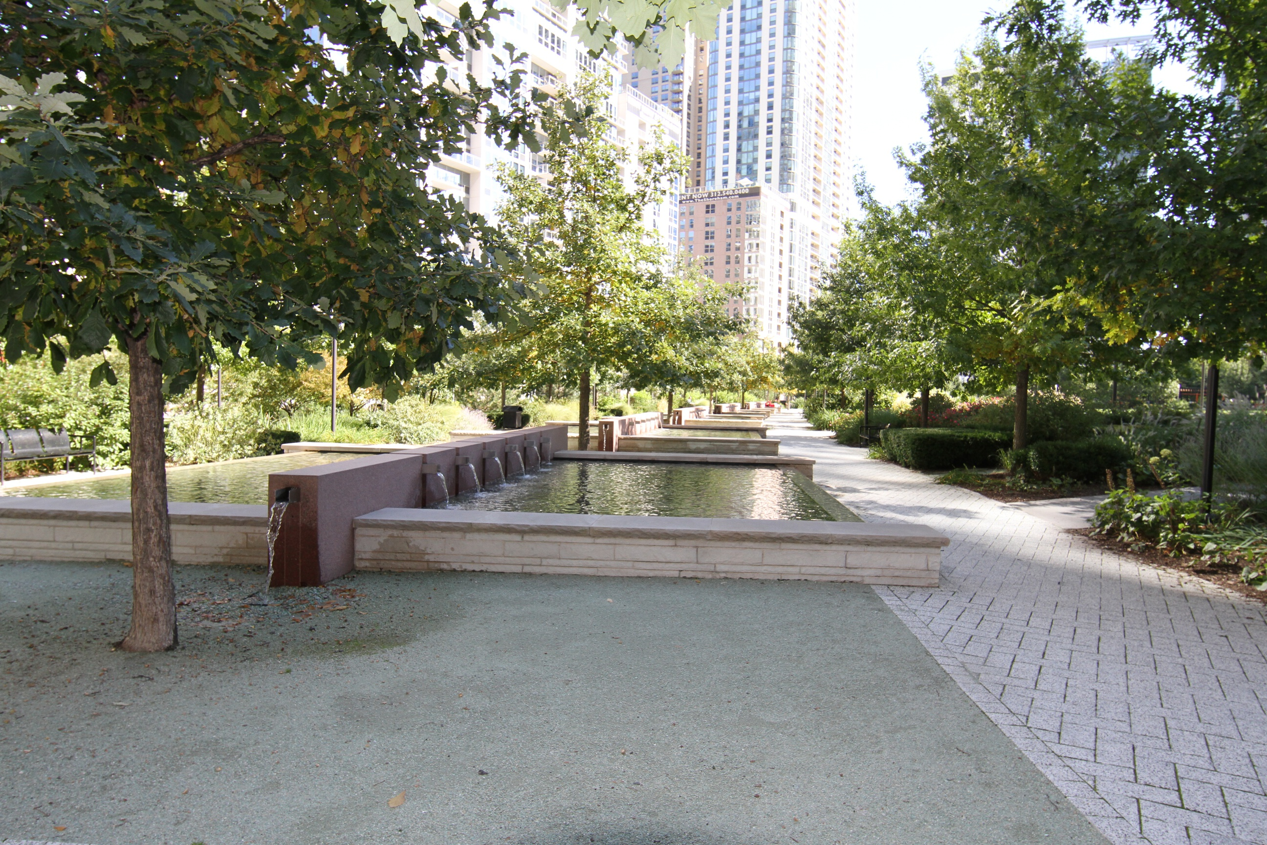 Fountains in LSE Park